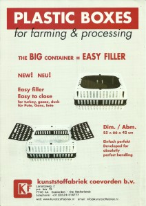Poultry Crate Easy Filler